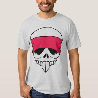 TBA Headbanded Skull T-Shirt
