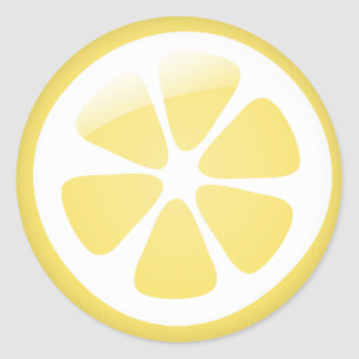{TBA} Lemon Stickers
