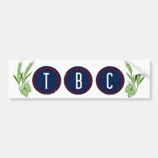 TBC Bumper Sticker