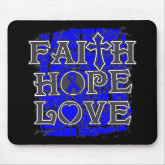 TBI Faith Hope Love Mouse Pads