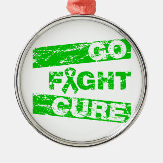 TBI Go Fight Cure Christmas Tree Ornaments