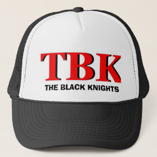 TBK6, THE BLACK KNIGHTS TRUCKER HAT