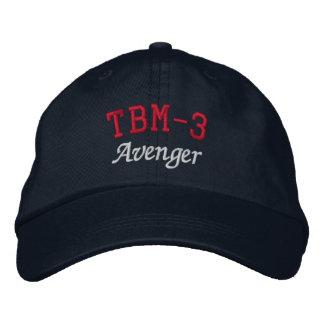 TBM-3 AVENGER EMBROIDERED BASEBALL CAPS