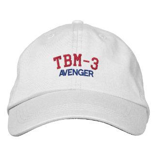 TBM-3 AVENGER EMBROIDERED HATS