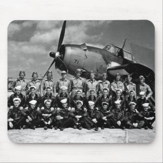 TBM-71 Graduation at NAS Fort Lauderdale Mouse Pad
