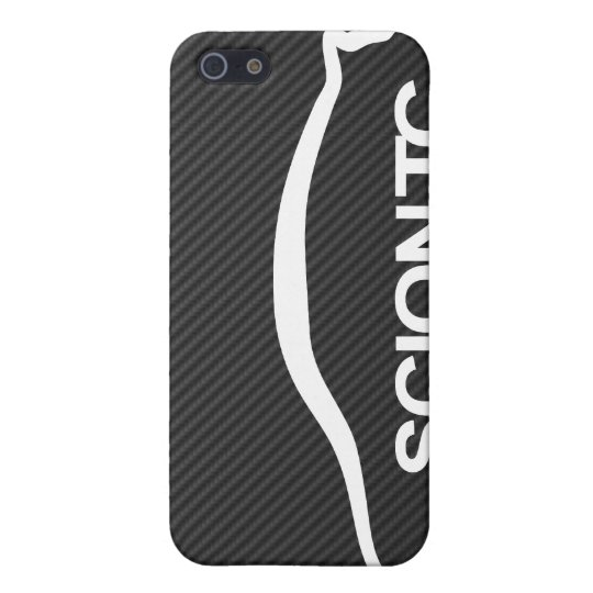 TC Silhouette Logo on Faux Carbon iPhone 5 Cases