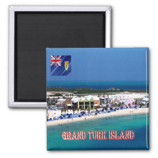 TC - Turks and Caicos Islands - Grand Turk Island Magnet