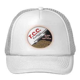 TCC Round Logo Hat, White