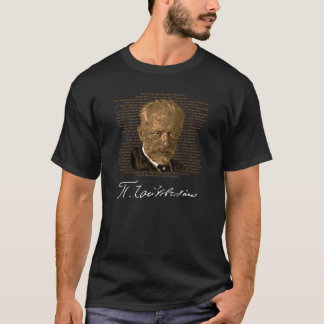 Tchaikovsky Golden Spellings T Shirt