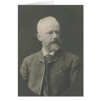 Tchaikovsky Portrait Greeting Card