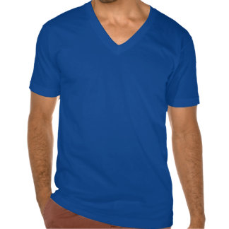 TCI Men's Fine Jersey V-neck T-Shirt, Dark Blue Tees