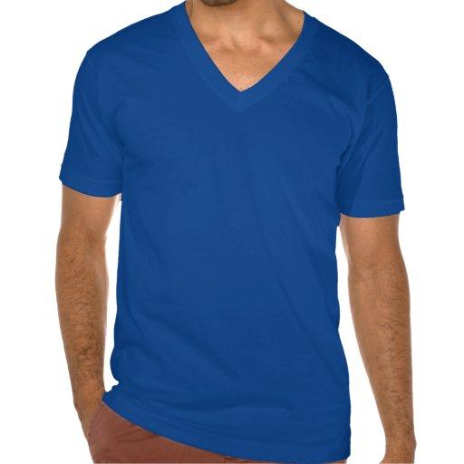 TCI Men's Fine Jersey V-neck T-Shirt, Dark Blue
