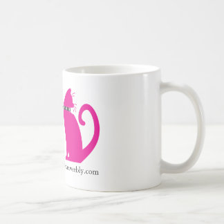 "TCMR ""Real Men Love Cats"" Mug (with pink cat)"
