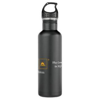 TCS Black Matte Water Bottle