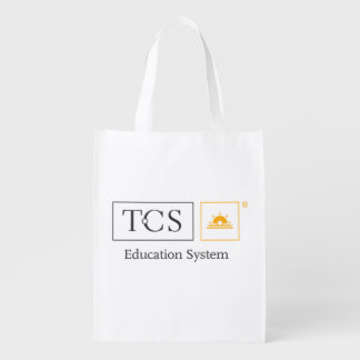 TCS Education System Reusable Grocery Bag