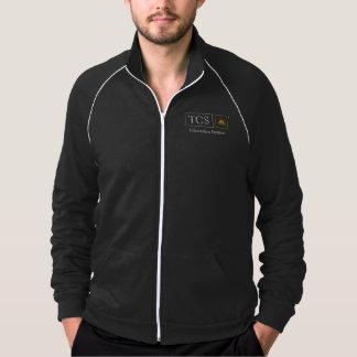 TCS Men's American Apparel Fleece Track Jacket