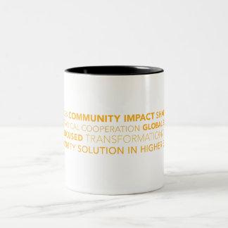 TCS Typography Coffee Mug
