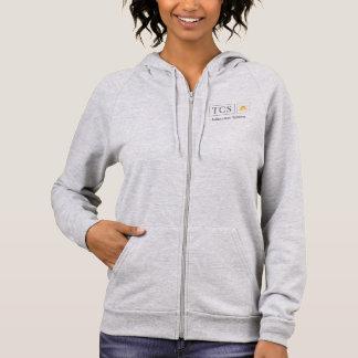 TCS Women's American Apparel California Fleece Zip Hoodie