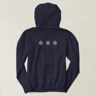 TCSPP black hooded sweatshirt