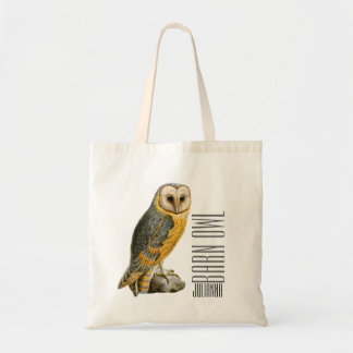 TCWC - Barn Owl Vintage Budget Tote Bag
