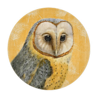 TCWC - Barn Owl Vintage for the Cook Cutting Board