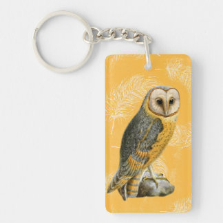 TCWC - Barn Owl Vintage Key Ring