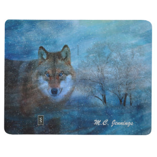 TCWC - Blue Wolf Christmas Journal