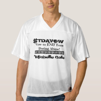 #TDAVOW TEE! MEN'S FOOTBALL JERSEY