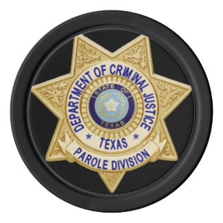 TDCJ Parole Division Coin Set Of Poker Chips