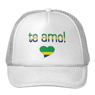Te Amo! Brazil Flag Colors Trucker Hat
