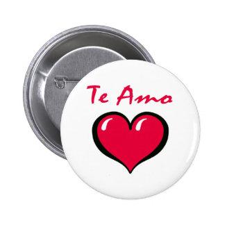 Te Amo Button
