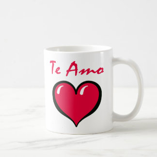 Te Amo Mug
