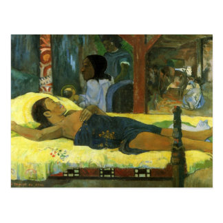 Te Tamari No Atua - Paul Gauguin Postcard
