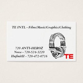te, TE INTL - Films/Music/Graphics/Clothing, No...