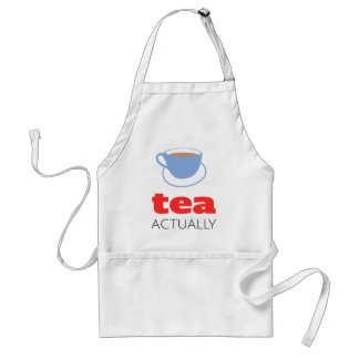 Tea Actually Standard Apron