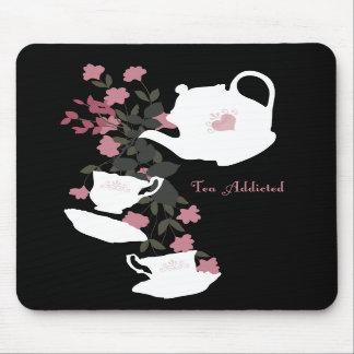 Tea Addicted Pad Mouse Pad