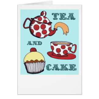 Tea and Cake Card