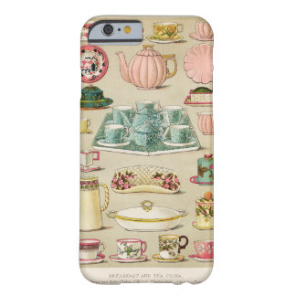 Tea and China Vintage Art Cell Phone Case