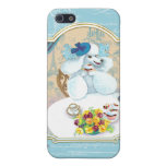 Tea and Crumpets White Poodle Tea Party iPhone 5 Case