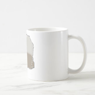 Tea Bag Basic White Mug
