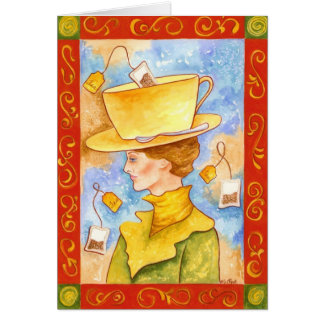 Tea Bag Lady Card