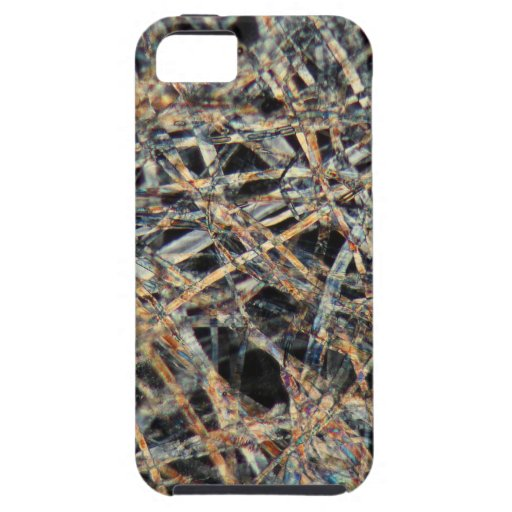 Tea bag paper under the microscope cover for iPhone 5/5S