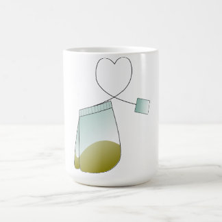 Tea Bag Tea Lover Heart Mug