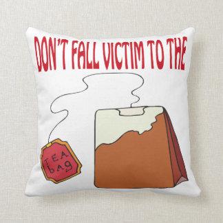 Tea Bagged Cushion