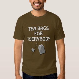 Tea Bags T Shirts