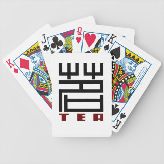 TEA BICYCLE PLAYING CARDS