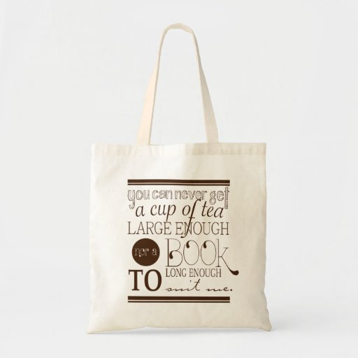 Tea & Books bag