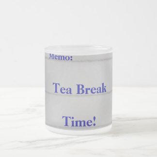 Tea Break Time Coffee Mugs