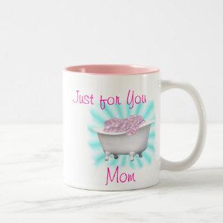 Tea & Bubbles for Mom-customize Mugs