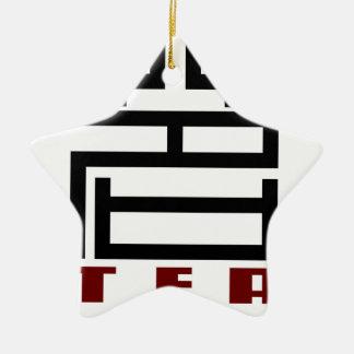 TEA CHRISTMAS ORNAMENT